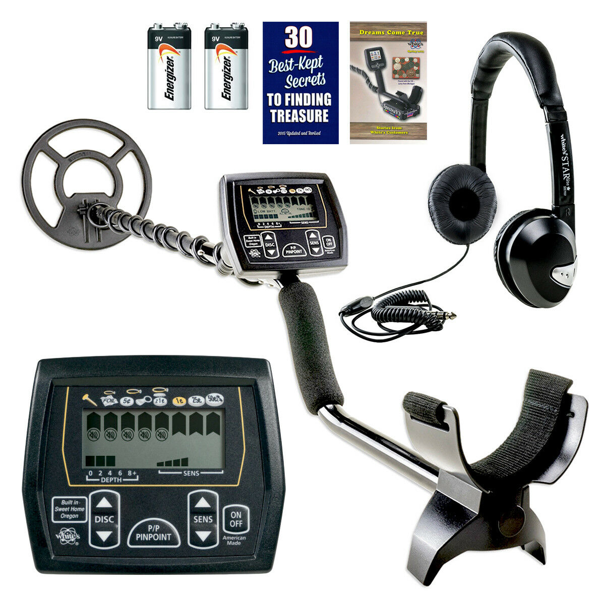 Whites Coinmaster Metal Detector 9 Waterproof Search Coil 2 Yr Ebay Home Made Norton Secured Powered By Verisign