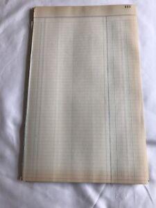25-Vintage-Libro-mayor-de-papel-en-blanco-desde-Wi-agricultor-papel-de-Scrapbook-Basura-Journal