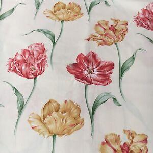 Material-de-Cortina-de-tapiceria-textil-Sanderson-034-Bloom-034-3-8m-pieza-de-Algodon-100-54-034