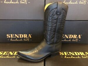 Sendra Boots Style 2073 Black Leather