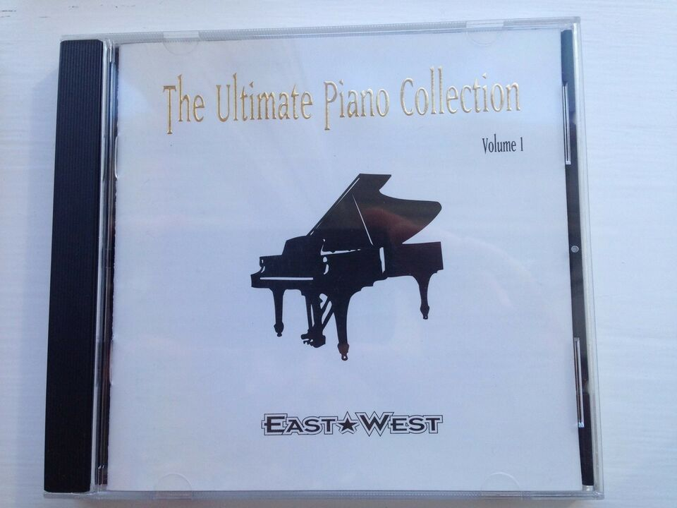 Sample cd-ROM , East West The ultimate piano collection