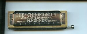 Années 1930 Hohner Chromonica Harmonica Avec Echo Elite Box-afficher Le Titre D'origine 3drz4jlz-07182500-630546136