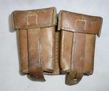 Mauser K98 Pair of DOUBLE Ammunition Pouches - Yugoslavian Military Army