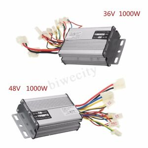 36V-48V-1000W-Electric-Scooter-Speed-Controller-Motor-Brush-For-Vehicle-Bicycle