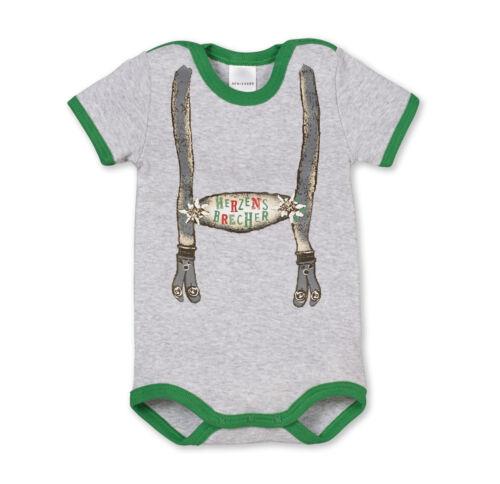 74-104 Bodies NEU SCHIESSER Baby Body Halbarm HOSENTRÄGER OKTOBERFEST Gr