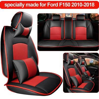 Truck Seat Covers For Ford F150 2009 2019 Set Rear Split