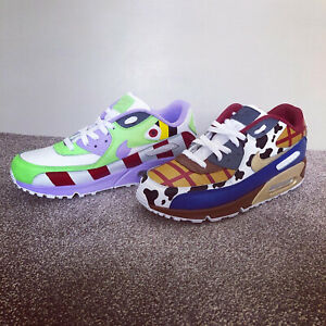 Nike Air Max 90 Toy Story Custom Shoes