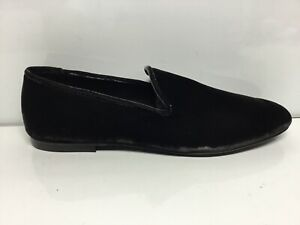 Vince-Camuto-Womens-Bray-Pewter-Velvet-Loafers-Size-9M