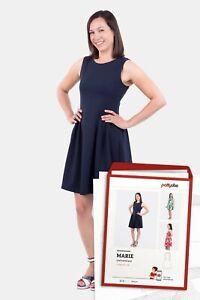 MARIE Schnittmuster von Pattydoo Damenkleid Sommerkleid Jerseykleid Damen Kleid