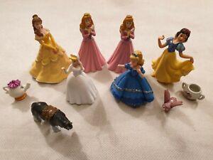 Disney Princess Figura Bundle da Bullyland SEL Belle Sleeping Beauty Biancaneve
