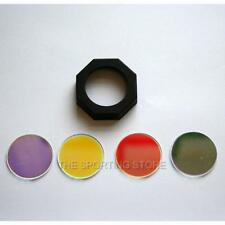 LED Lenser filter set with coloured lenses for P7, T7, B7, L7, M8, H14  torches