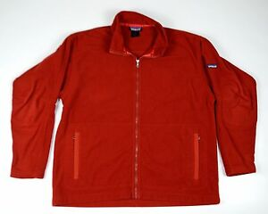 Patagonia-Fleece-Jacket-Full-Zip-Synchilla-Red-Men-Size-XL