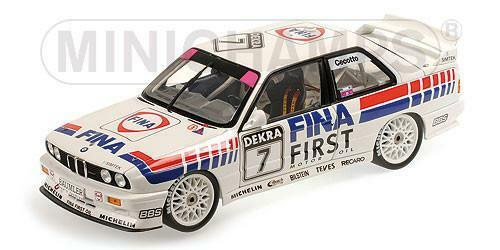 Minichamps 1   18 bmw m3 (e30) team fina johnny cecotto dtm 1992   7 180922007