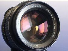 Pentax SMC Takumar focale fissa 50mm f1.4 M42-LEGGI - (#5)