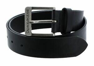 Calvin Klein CKJ Belt W80 Gürtel Accessoire Black Schwarz