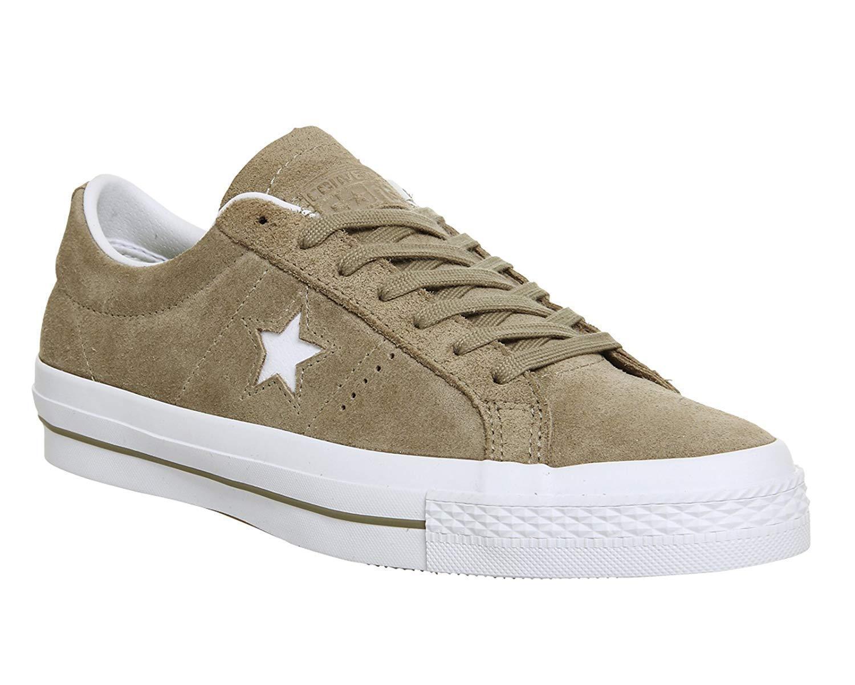 Converse One Star Suede Ox Sandy Weiß