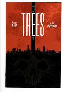 TREES-1-FIRST-PRINT-UNREAD-IMAGE-COMICS-VF-NM-HOT-BOOK-NBCU-SERIES-COMING