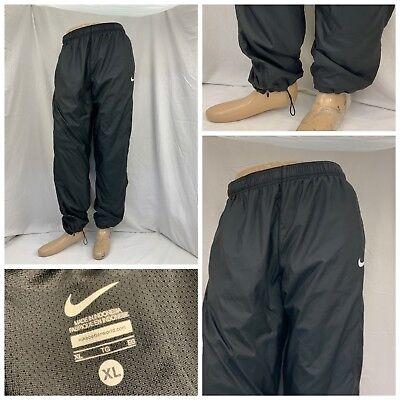 Men's Clothing Lovely Nike Sweatpants Xl Black 100% Poly Pockets Euc Ygi Y8-49 Latest Technology Activewear Bottoms