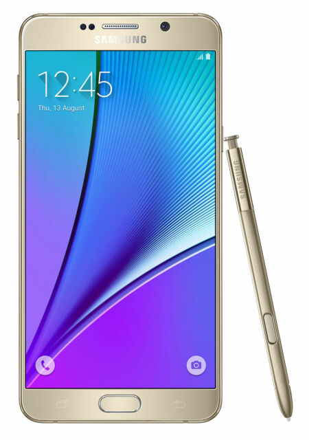 Samsung Galaxy Note5 SM-N920V - 32GB Gold Platinum . New