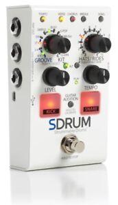 digitech sdrum strummable drums guitar bass effects pedal drum machine stompbox 691991007484 ebay. Black Bedroom Furniture Sets. Home Design Ideas
