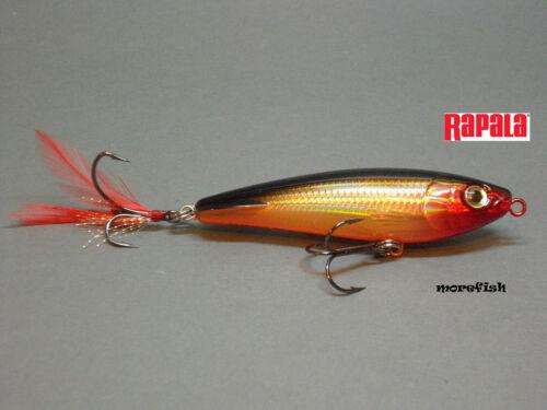 Gold G Rapala Jerkbait X-RAP Subwalk 9cm XRSB09