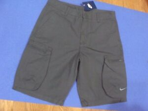 4658bb45b9 Men's Nike Woven Khaki Cargo Casual Shorts 613644 060 Size 30~40   eBay