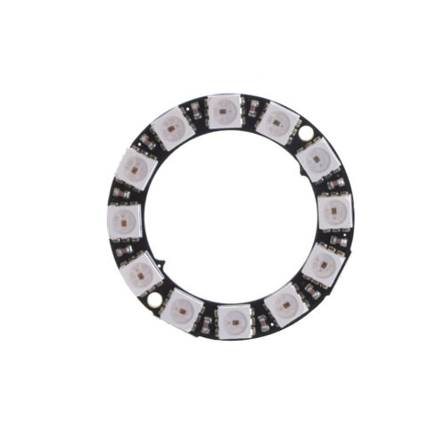 RGB LED Ring 12Bit WS2812 5050 RGB LED Integrated Driver Module for arduin.z
