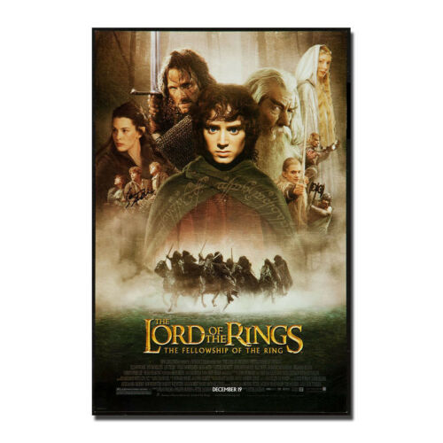 The Lord Of The Rings Hot Movie Silk Canvas Poster Print 13x20 32x48/'/'