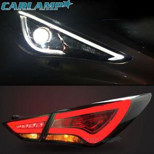 Led Projector Headlights Amp Tail Lights For Hyundai Sonata