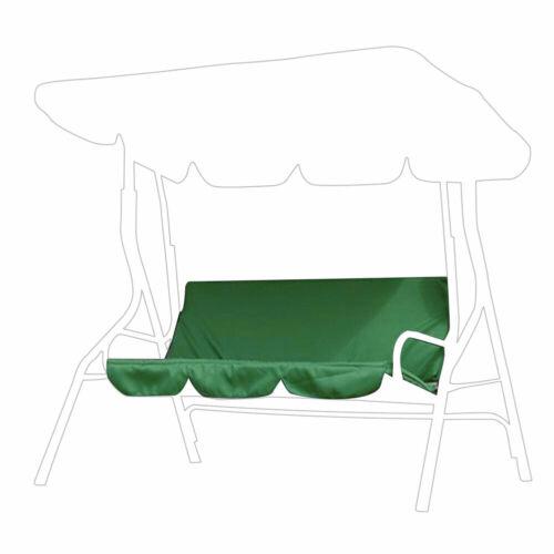 Replacement 3 Seater Swing Seat Cushion Hammock Garden Bench Pad Mat Waterproof
