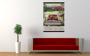 """Art Chrysler 1946 No2 Vintage Ad Repro Art Print Poster Picture Wall 33.1""""x23.4"""""""