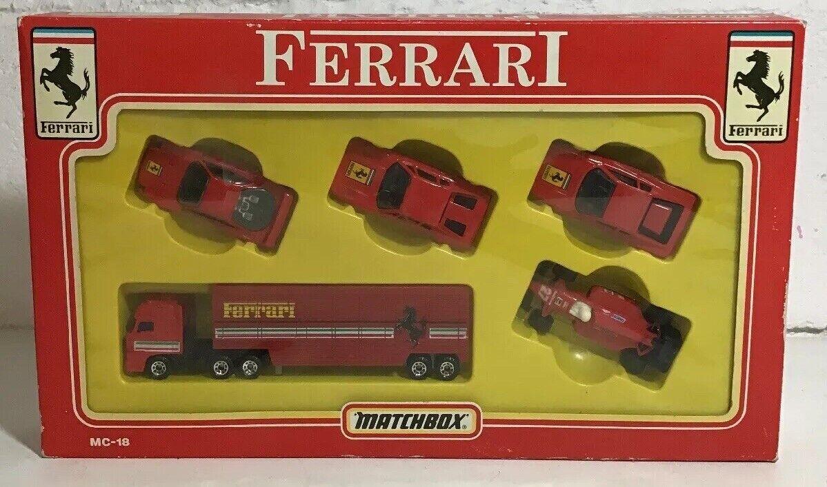 Matchbox MC-18 FERRARI Box Set