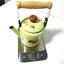thumbnail 4 - Green-enamelware-pot-camping-coffee-Tea-Kettle-Vintage-enamel-cookware