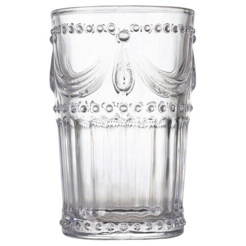 Valentino Vintage Tumbler 34cl//12oz Table Glasses Cocktail Drink Beverages x 4