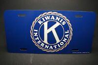 Kiwanis International Club Metal Car License Plate For Cars