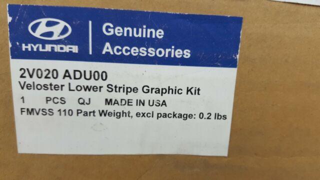 HYUNDAI Genuine Accessories 2V020-ADU00 Fan Lower Body Graphics