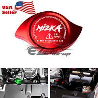 Red Billet Aluminum Radiator Protector Pressure Cap Cover Car High Performance