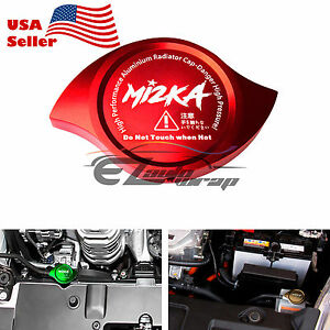 Purple Billet Aluminum Radiator Protector Pressure Cap Cover Car High Performance