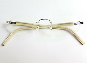 41f0a7609b Details about Lindberg Spirit Titanium T98 145 Eyeglasses Rimless Glasses  Made in Denmark 2004