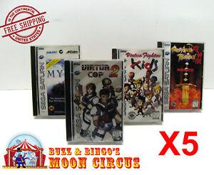 5x-SEGA-SATURN-CIB-GAME-CLEAR-PLASTIC-PROTECTIVE-BOX-PROTECTOR-SLEEVE-CASE