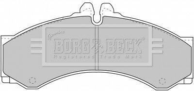 JURATEK REAR SET OF BRAKE PADS  FOR MERCEDES-BENZ SPRINTER 2148CCM 82HP 60KW