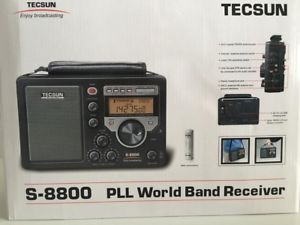 TECSUN S-8800 Metall Empfänger HF Ssb Laptop Mit Funkfernbedienung 330013