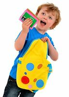 Something Special Mr. Tumble Textured Spotty Bag W/ Cards Toy Game Kids Play Gi