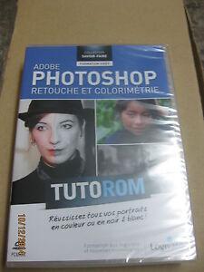 TUTOROM-Formation-Photoshop-CS5-Retouche-et-Colorimetrie-neuf-sur-CD