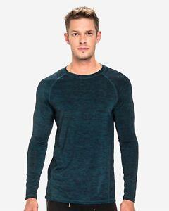 TEAMM8 Triumph t-shirtn long sleeve green men gym NO RETURNS CLOSING DOWN