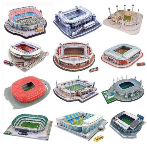 DIY 3D Jigsaw Puzzle World Soccer Football Stadium Toy-Estadio Santiago Bernabéu