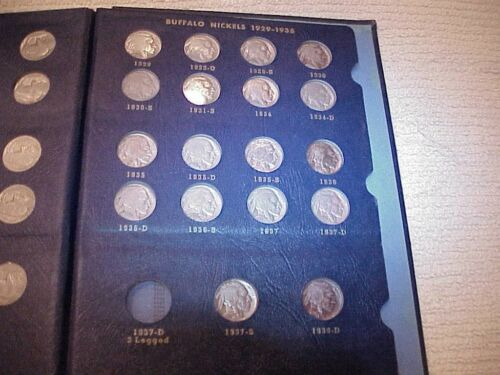 VERY RARE BUFFALO NICKEL COLLECTION 1913-38 41 TOTAL COINS! 7 AWESOME KEYS