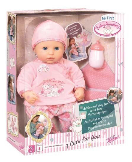 Zapf Creation My First Baby Annabell I Care for You Doll ...