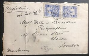 1895-Mexico-City-Mexico-cover-To-London-England-British-Legation-Wax-Seal