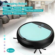 3in1 Auto Rechargeable Smart Robot Vacuum Dry//Wet Floor Sweep B9S9 Mop X2W0